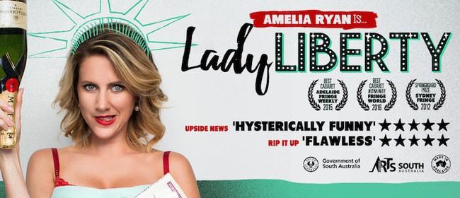 Amelia Ryan Is Lady Liberty