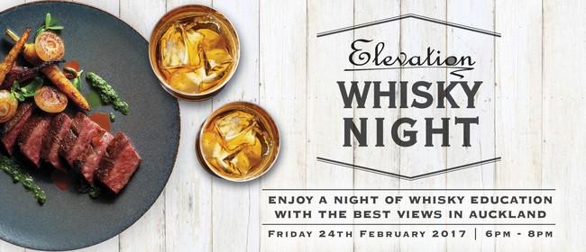 Elevation Whisky Night