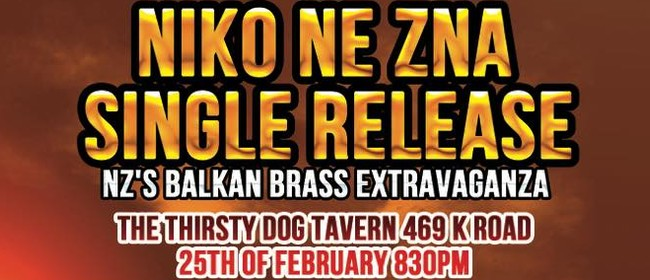 Niko Ne Zna Babushka's Borsch Single Release Party