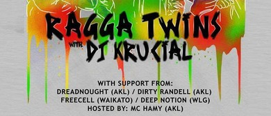 Ragga Twins And DJ Krucial