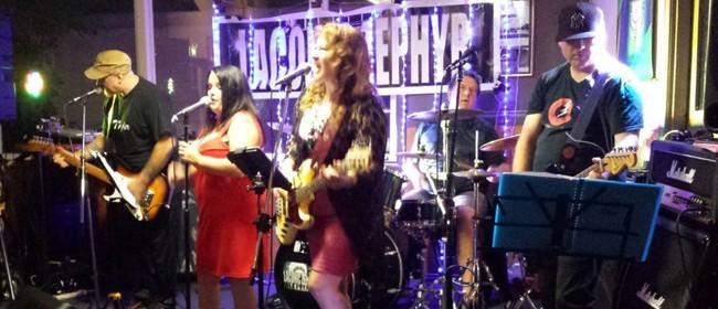 Laconic Zephyr Taranaki Anniversary Pop-Rock Show
