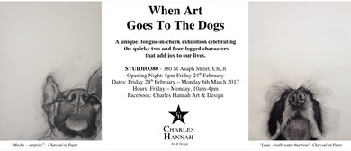 When Art Goes to The Dogs