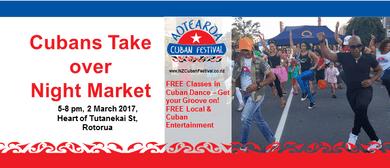 Rotorua Night Market - Cuban Entertainment
