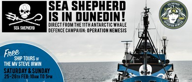Ship Tours – Sea Shepherd is in Town