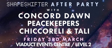 Shapeshifter Afterparty With Concord Dawn, Peacekeepers & Mo