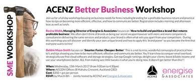 ACENZ Better Business Workshop