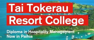 Tai Tokerau Resort College Information Evening