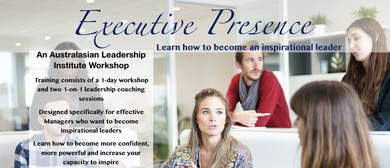 Executive Presence: How To Become An Inspirational Leader