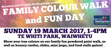 Waiwhetu & Waterloo Kindergartens' Family Fun & Colour Day