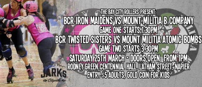 Bay City Rollers vs Mount Militia Double Header