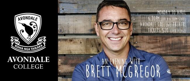 An Evening With Brett McGregor