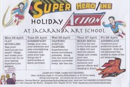 Superhero/ine Children's Art Holiday Action
