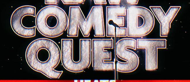 Wellington Raw Comedy Quest - Semifinals