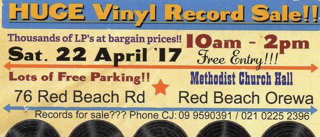 Huge Vinyl Record Sale