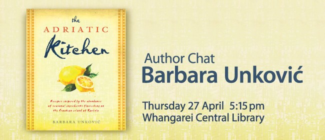 Author Chat With Barbara Unković