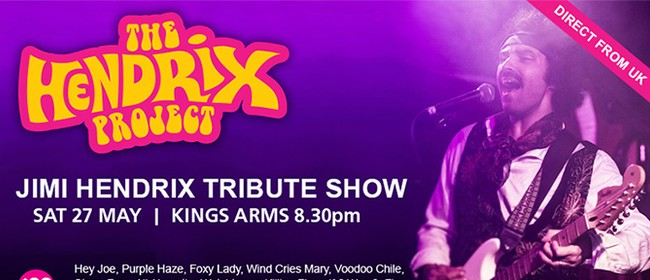 The Hendrix Project - Jimi Hendrix Tribute Show
