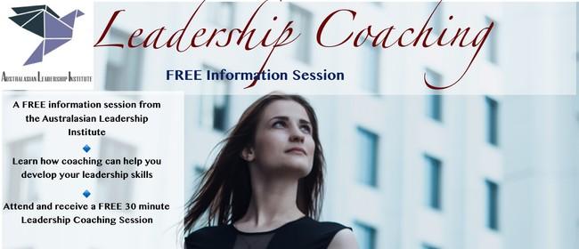 Leadership Coaching: Free Information Session