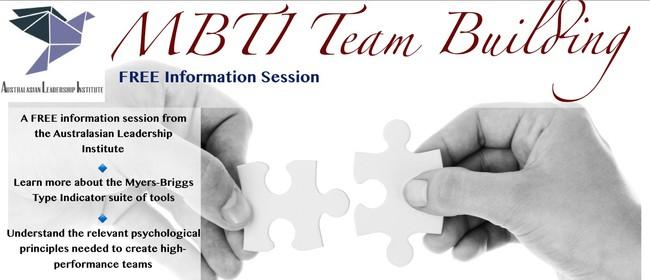 MBTI Team Building: Free Information Session