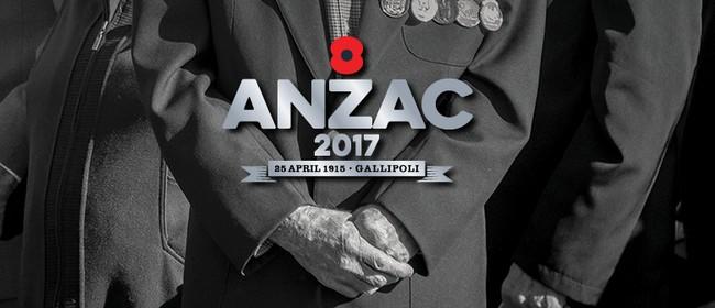 Anzac Day - Tauranga Civic Memorial Service 2017