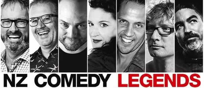 NZ Comedy Legends Stand Up