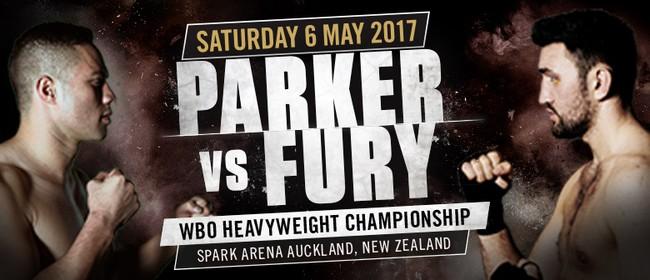 Joseph Parker vs Hughie Fury - World Heavyweight Title