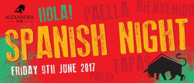 Spanish Tapas Night