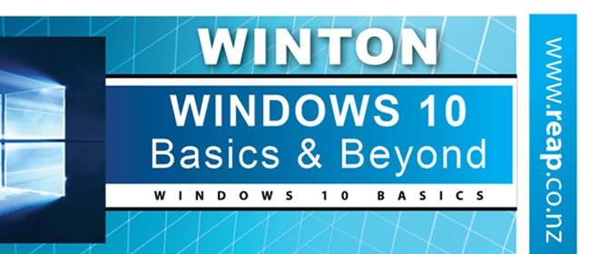 Windows 10 - Basics & Beyond