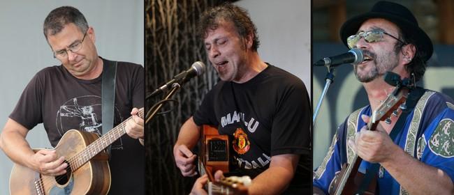 John Michaelz & Derek Jacombs with Derrin Richards