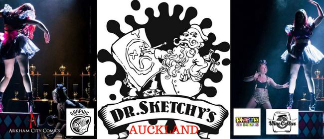 Dr. Sketchy Auckland: Wind Me Up with Michelle Kasey
