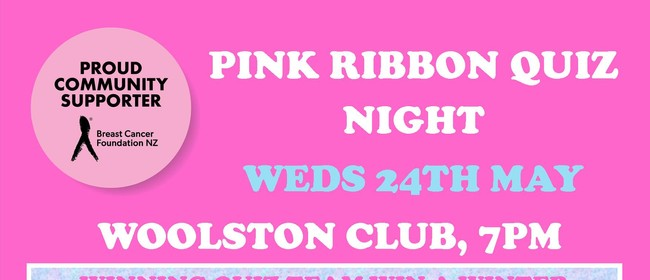 Pink Ribbon Quiz Night Fundraiser