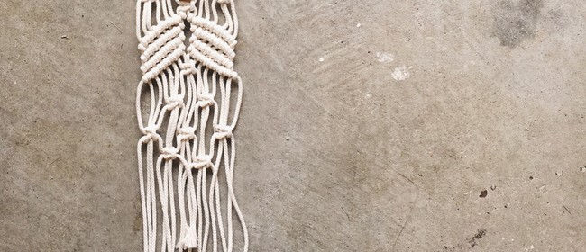Little Macrame Wall Hanging Workshop