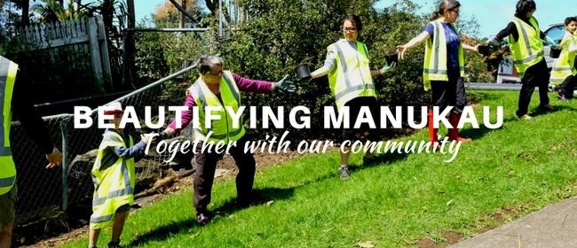 Manurewa Town Centre Clean-up