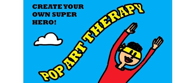 Pop Art Therapy – Create Your Own Super Hero