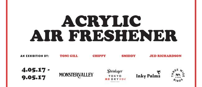 Acrylic Air Freshener