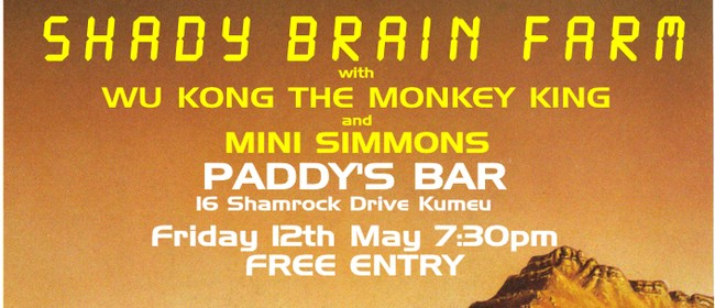Shady Brain Farm with WuKong The Monkey King & Mini Simmons