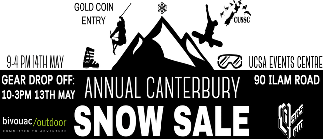Annual Canterbury Snow Sale 2017