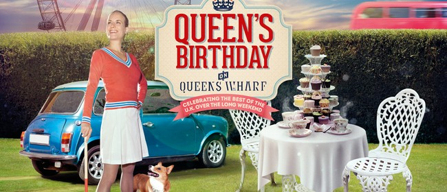 Queen's Birthday On Queens Wharf