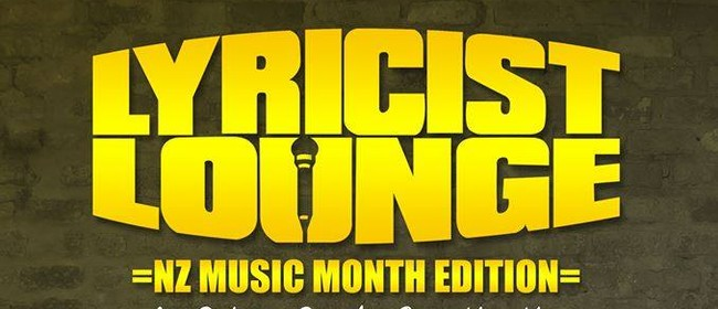 Lyricist Lounge - NZ Music Month Edition