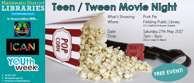 Teen-Tween Movie Night - Pork Pie