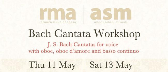 Bach Cantata Workshops & Concert