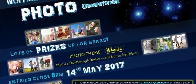 Matariki Calendar Photo Competition