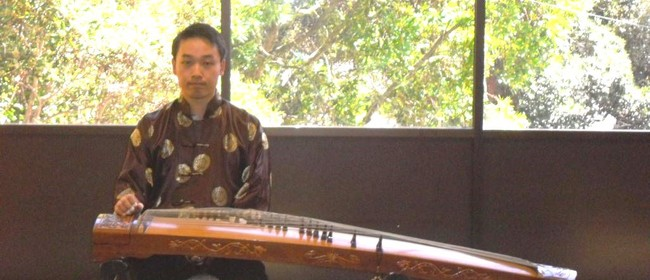 Gu Zheng Bby Joseph Ngui At the NZ Music Month Celebration
