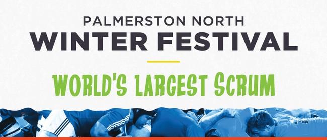 Palmerston North Winter Festival - World's Largest Scrum