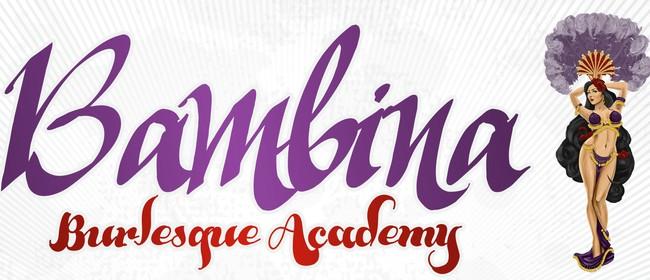 Bambina Bumpers Beginners Burlesque Term Course
