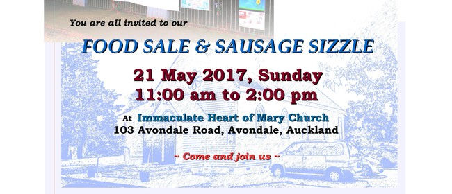 Food Sale & Sausage Sizzle
