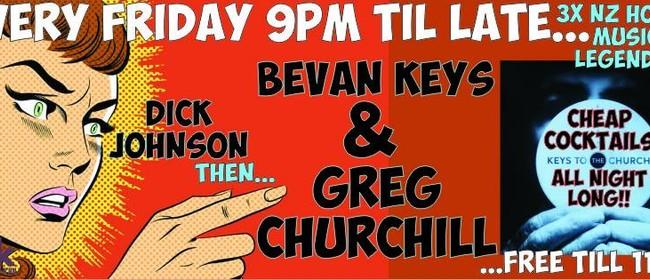 Dick Johnson, Bevan Keys & Greg Churchill