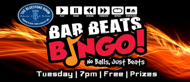 Bar Beats Bingo... No Balls... Just Beats