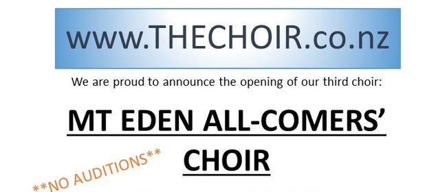 All-Comers Choir - Starting