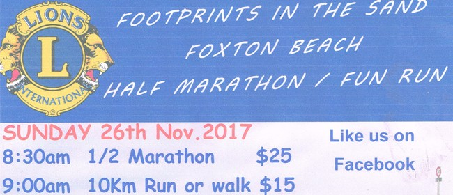 Footprint In the Sand Half Marathon - Fun Run