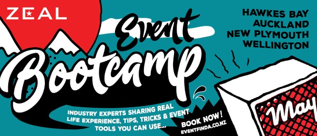 Zeal Event Bootcamp - Wellington